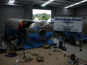 SSP Engineering Tank repairs