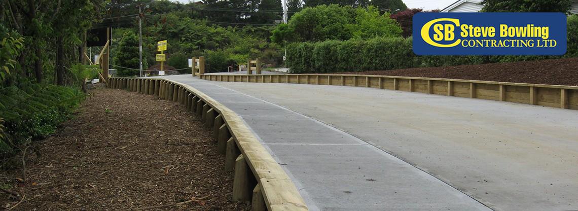 k&h subdivision retaining walls