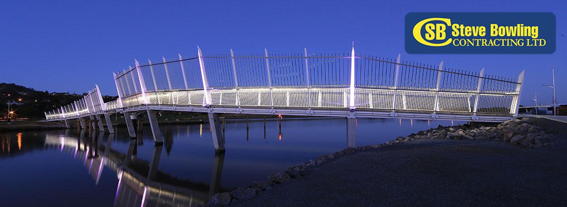 waiarohia footbridge whangarei