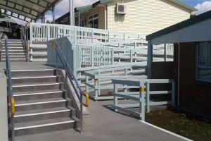 Glenbervie School Steps