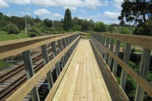 Tirohanga Cycleway Bridge