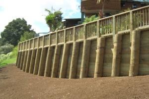 Whau Valley Retaining Wall