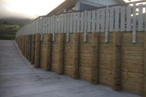 Gillespie Retaining Wall