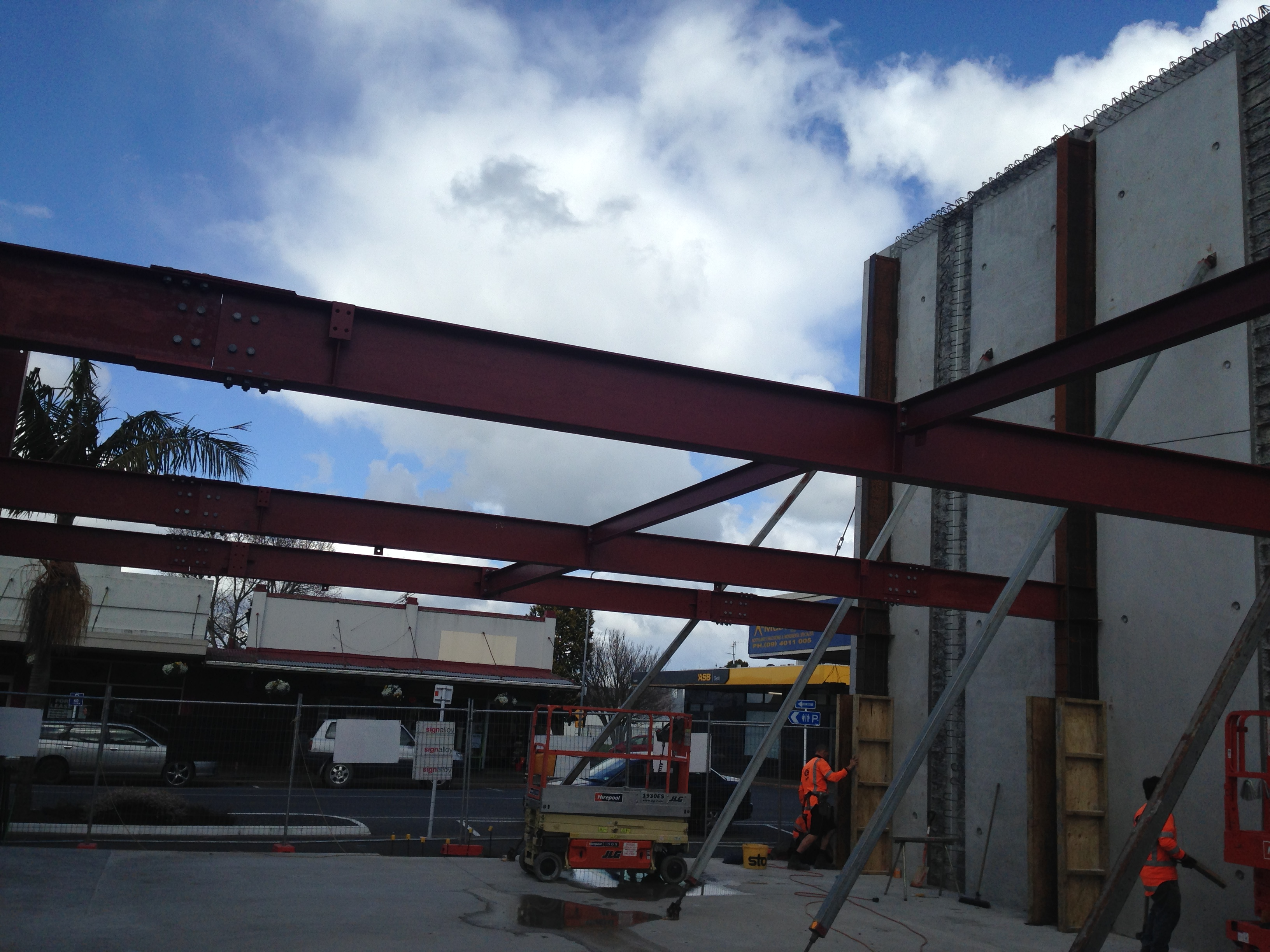 Structural steelwork 3